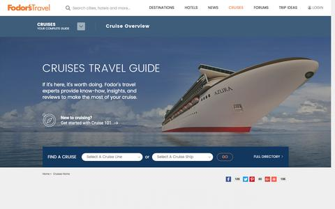 Cruises | Fodor's Travel
