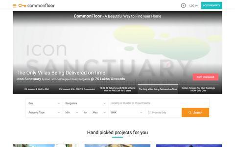 Property in India | Real Estate India | Buy/Sale/Rent Properties Online in India | Commonfloor.com