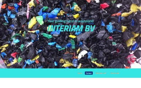 Screenshot of Contact Page interiam.nl - Interiam BV - captured Oct. 27, 2014