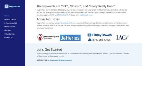 Skypromote - Boston SEO Company, 15+ Years Experience