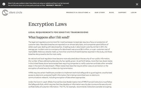 Encryption Laws - Silent Circle