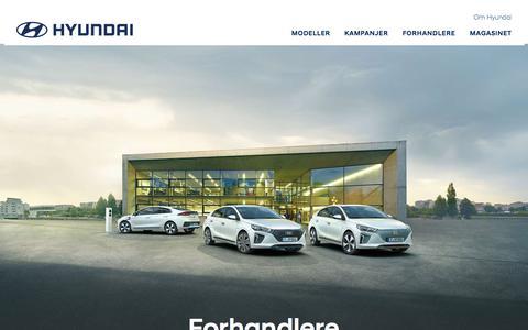 Forhandlere | Hyundai Norway
