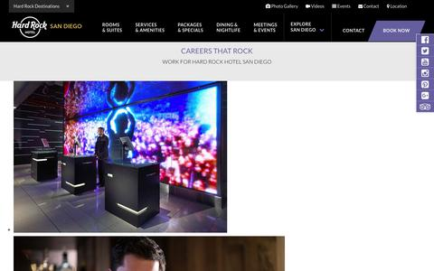 Hard Rock Hotel San Diego: Contact the Hard Rock Hotel in San Diego