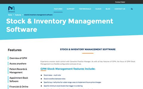 Screenshot of Team Page gensolve.com - Online Inventory and Stock Management Software Australia - Gensolve - captured Nov. 4, 2016