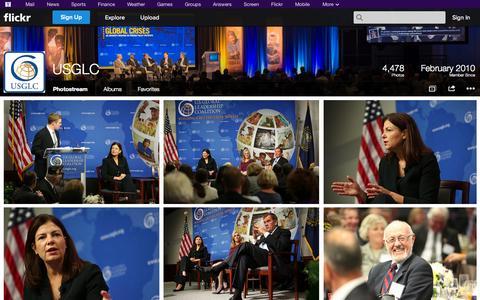 Screenshot of Flickr Page flickr.com - Flickr: USGLC's Photostream - captured Oct. 23, 2014