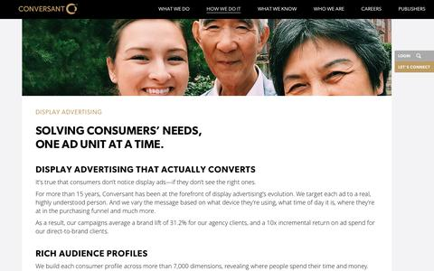 Display Advertising | Programmatic Marketing | Conversant | Conversant