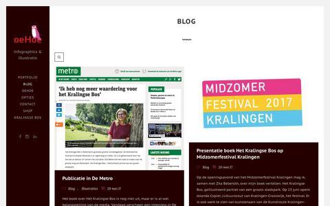 Screenshot of Blog oehoe.info - Oehoe - Blog - captured Nov. 10, 2017