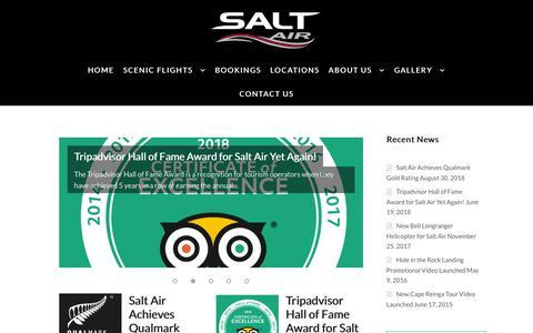 Screenshot of Blog saltair.co.nz - Salt Air Blog with Latest News and Updates - captured Nov. 6, 2018