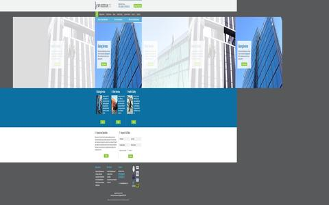 Screenshot of Home Page Menu Page skyaccessuk.com - High Level Rope Access & Glazing Services | Sky Access UK - captured Oct. 3, 2014