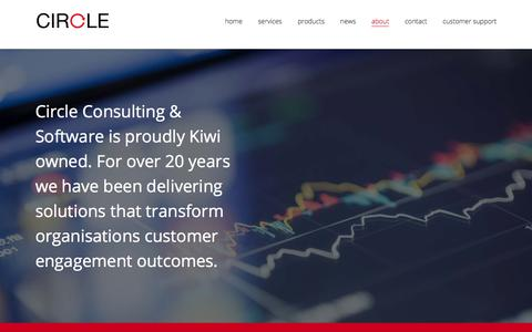Screenshot of About Page circle-consulting.co.nz - About us – Circle - captured July 31, 2017
