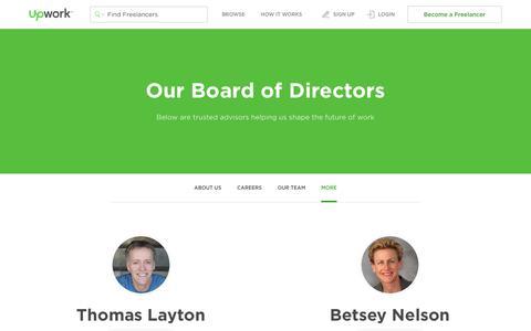 Board of Directors - Upwork