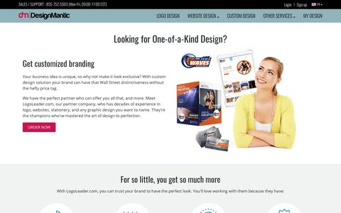 Distinctive Custom Logo and Graphic Design Solution for Your Business