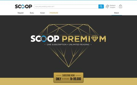 SCOOP Premium - All You Can Read - SCOOP Indonesia