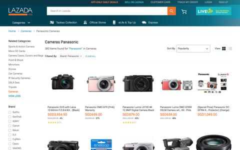 Latest Panasonic Cameras Products | Enjoy Huge Discounts | Lazada SG