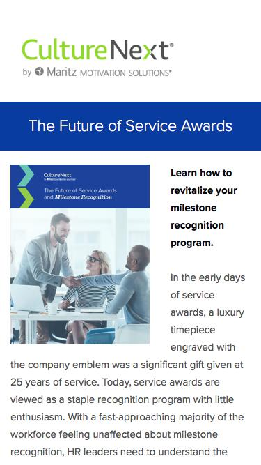 The Future of Service Awards