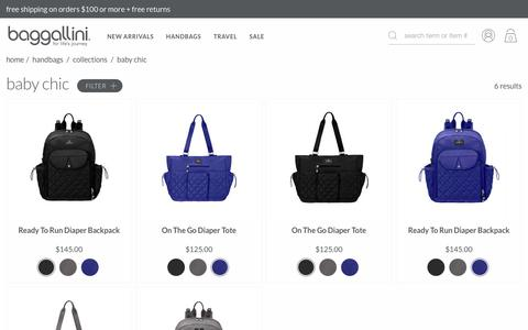 Baby Bags & Backpacks - BG Baby Collection | baggallini