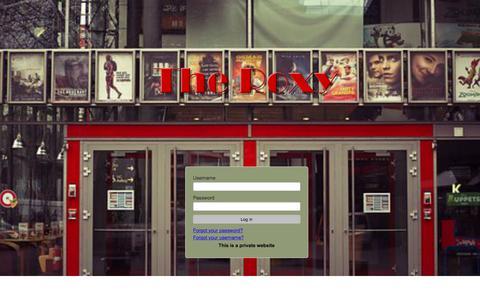 Screenshot of Home Page winnr.net - Entrance - captured Nov. 6, 2017