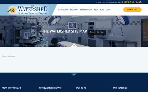 The Watershed Site Map