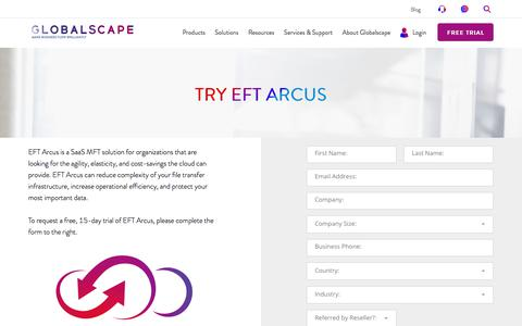 EFT Arcus Cloud Services | Globalscape