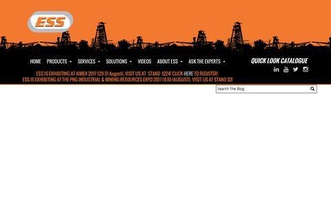 Screenshot of Blog esseng.com.au - Blog - captured July 11, 2017