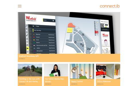 Screenshot of Blog connectib.com - Blog - captured Dec. 11, 2015