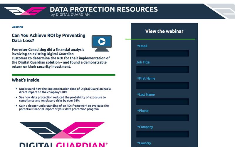 Can You Achieve Return On Investment by Preventing Data Loss? | An ROI Framework for Data Loss Prevention Tools