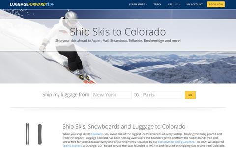 Ship Skis to Colorado | Shipping Skis to Colorado