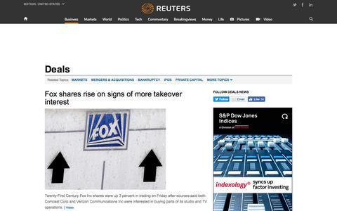 Deals News | Reuters