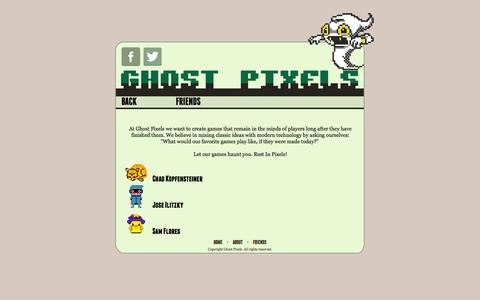 Screenshot of About Page ghostpxs.com - Ghost Pixels - About - captured Oct. 2, 2014