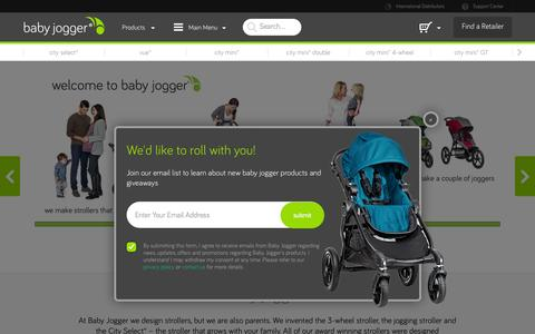 Baby Jogger® Single & Double Everyday & Jogging Strollers - Baby Jogger