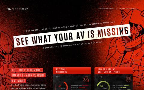 CrowdStrike Falcon Antivirus Replacement