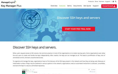 Key Manager Plus | Discover