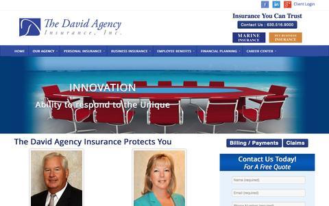 Screenshot of Team Page thedavidagency.com - Our Team - The David Agency - The David Agency - captured Nov. 4, 2014