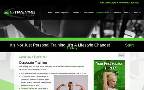 Elite Training Tulsa | Corporate Training | Elite Training