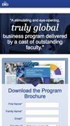 New Landing Page IMD business school