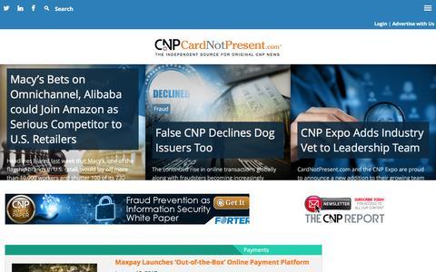 CardNotPresent.com – The Independent Source for Original CNP News