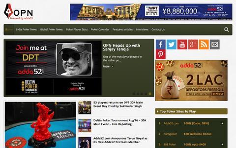 Online Poker News - India's Premier Poker News WebsiteOnline Poker News