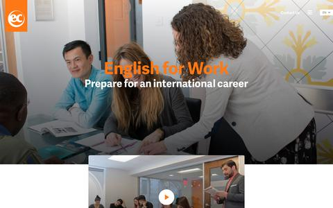 Learn English for Work - EC English Language Schools
