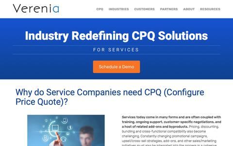 CPQ for Services