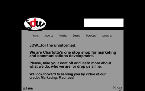 Welcome to JDW: The Charlotte Agency!