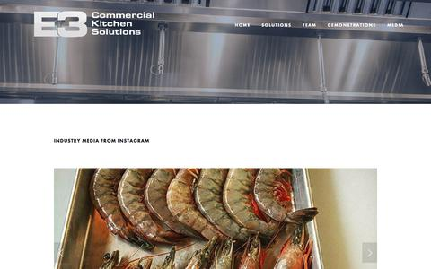 Restaurants Press Pages on Squarespace | Website Inspiration and ...