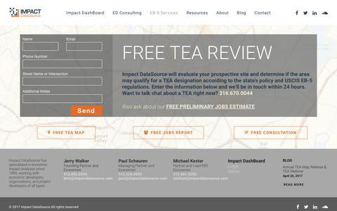 TEA – Impact DataSource
