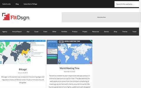 Screenshot of Maps & Directions Page fltdsgn.com - map Archives Flat UI Design - captured Sept. 20, 2015