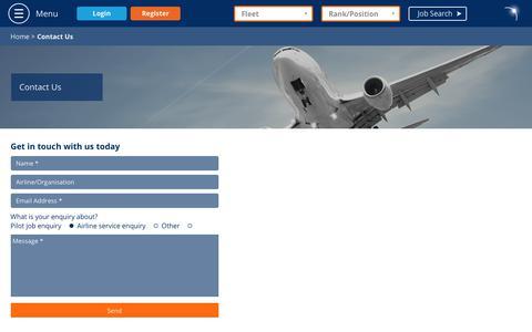 Screenshot of Contact Page rishworthaviation.com - Contact Us - Rishworth Aviation - captured Oct. 17, 2018