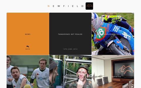 Screenshot of Press Page newfield.co.im - News | Newfield - captured Nov. 2, 2014