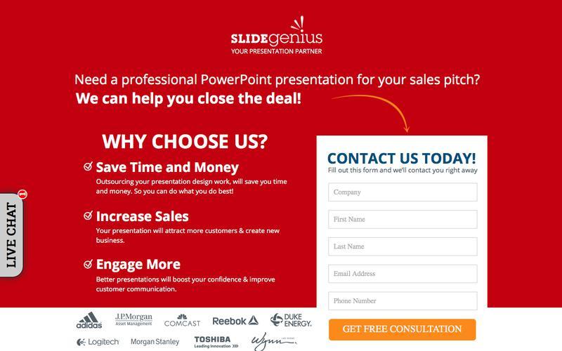 Sales Presentation Experts | We'll Make Your Slides For You
