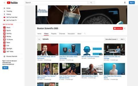Boston Scientific DBS  - YouTube