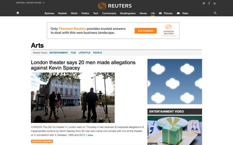 Arts - Entertainment | Reuters.com