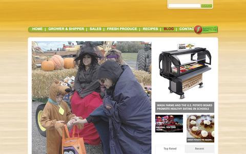 Screenshot of Blog wadafarms.com - Blog   Wada Farms – It's Gotta be Wada - captured Feb. 17, 2016