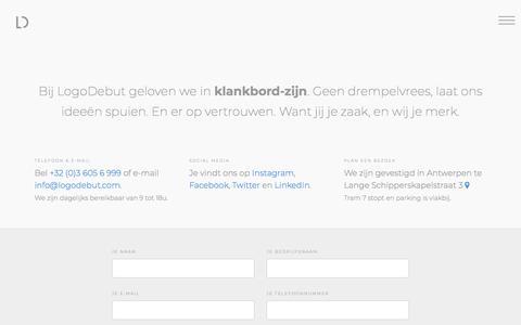 Contact — LogoDebut